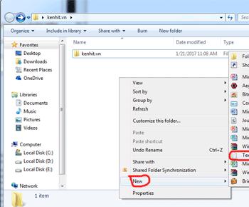Hướng dẫn tạo mật khẩu bảo vệ folder, thư mục trên windows không cần phần mềm