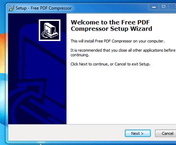 Cách giảm dung lượng file PDF với phần mềm Free PDF Compressor