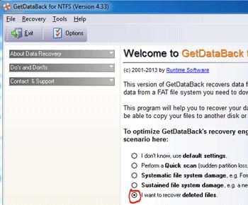 Hướng dẫn khôi phục dữ liệu đã xóa bằng GetDataBack Recovery