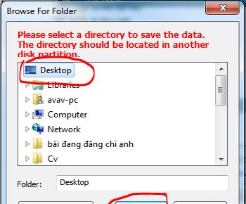 Hướng dẫn lấy lại dữ liệu đã xóa với DiskGetor Data Recovery