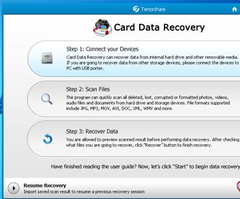 Phần mềm Card Data Recovery phục hổi dữ liệu