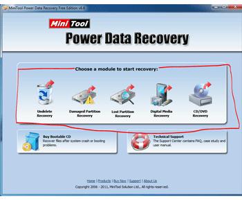 Lấy lại dữ liệu đơn giản với MiniTool Partition Recovery