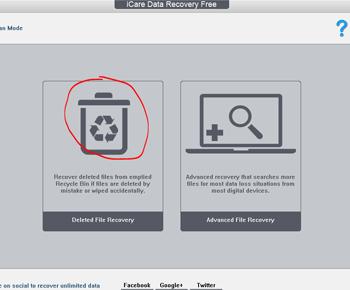 Phần mềm Icare Data recovery free lấy lại dữ liệu đã xóa