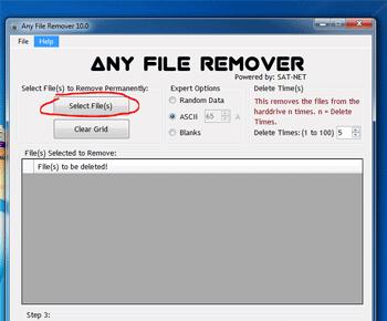 Hướng dẫn cài đặt và sử dụng phần mềm Any File Remover để xóa file cứng đầu