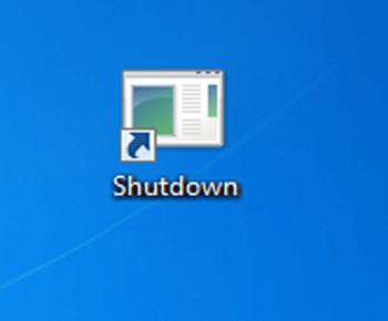 Cách tạo những icon Shutdown hay Restart ngoài Desktop