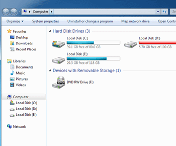 Cách xem ổ cứng máy tính còn bao nhiêu dung lượng