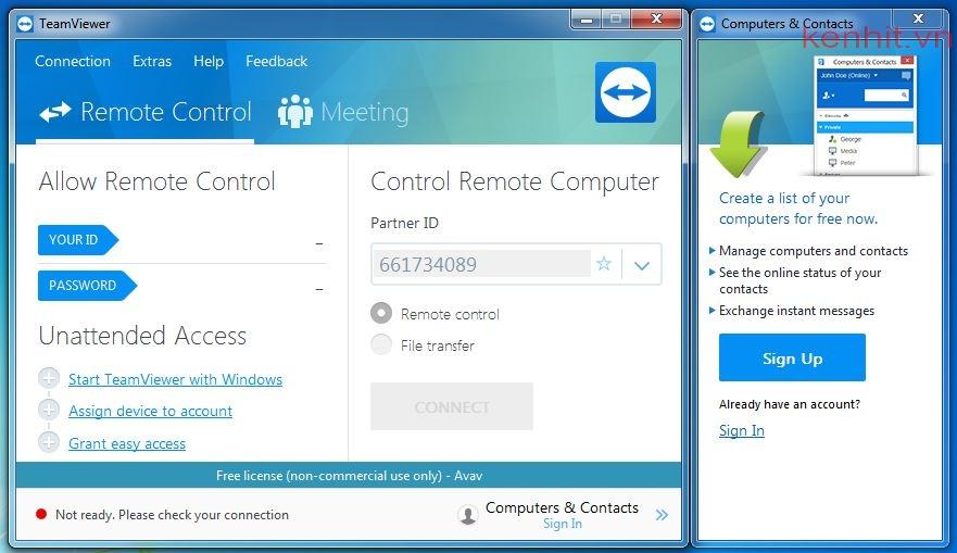 Hướng dẫn cài teamviewer, phần mềm mềm điều khiển máy tính