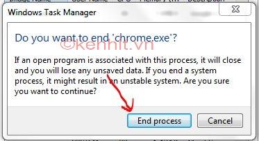 Cách khắc phục lỗi không vào được google chrome
