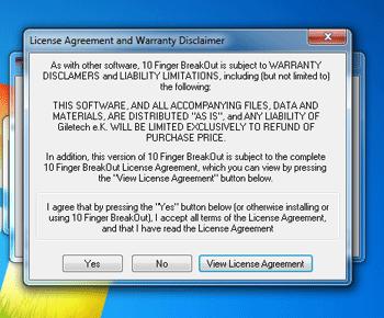 Hướng dẫn cài đặt phần mềm 10 finger breakout free typing game