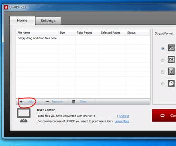 Cách chuyển đổi file pdf sang word tốt với UniPDF