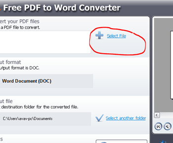 Cách chuyển đôi PDF sang word nhanh bằng Free PDF to Word Converter