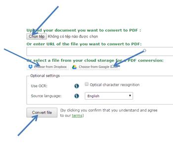 Chuyển đổi file word sang pdf bằng 2 thật đơn giản