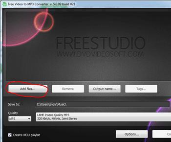 Hướng dẫn chuyển video sang mp3 với Free Video To MP3 Converter