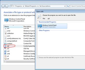 Cách khắc phục lỗi không mở được mục Control Panel trong windows 7,8,10