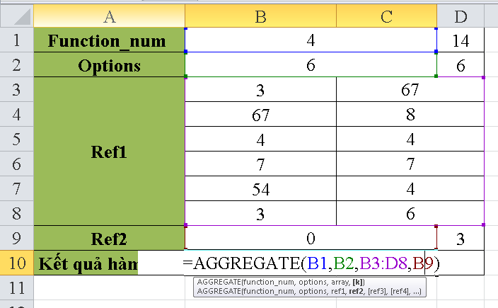 cach-su-dung-ham-AGGREGATE-trong-excel-1
