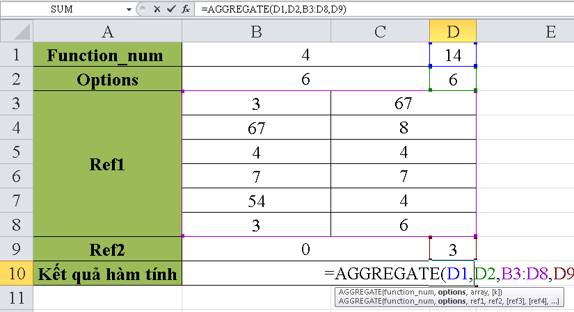 cach-su-dung-ham-AGGREGATE-trong-excel-3