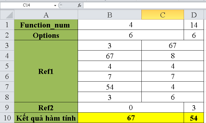 cach-su-dung-ham-AGGREGATE-trong-excel-4