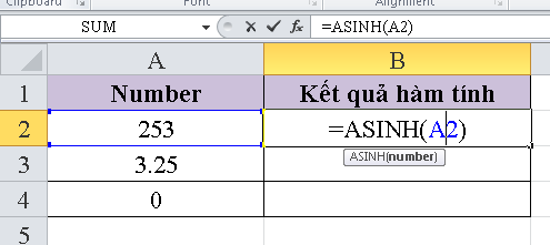 cach-su-dung-ham-ASINH-trong-excel-1