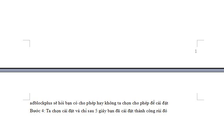 Cách đánh số trang trong word 2003