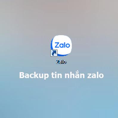 Cách backup tin nhắn zalo trên điện thoại