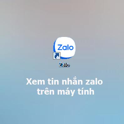 Cách xem tin nhắn zalo trên máy tính